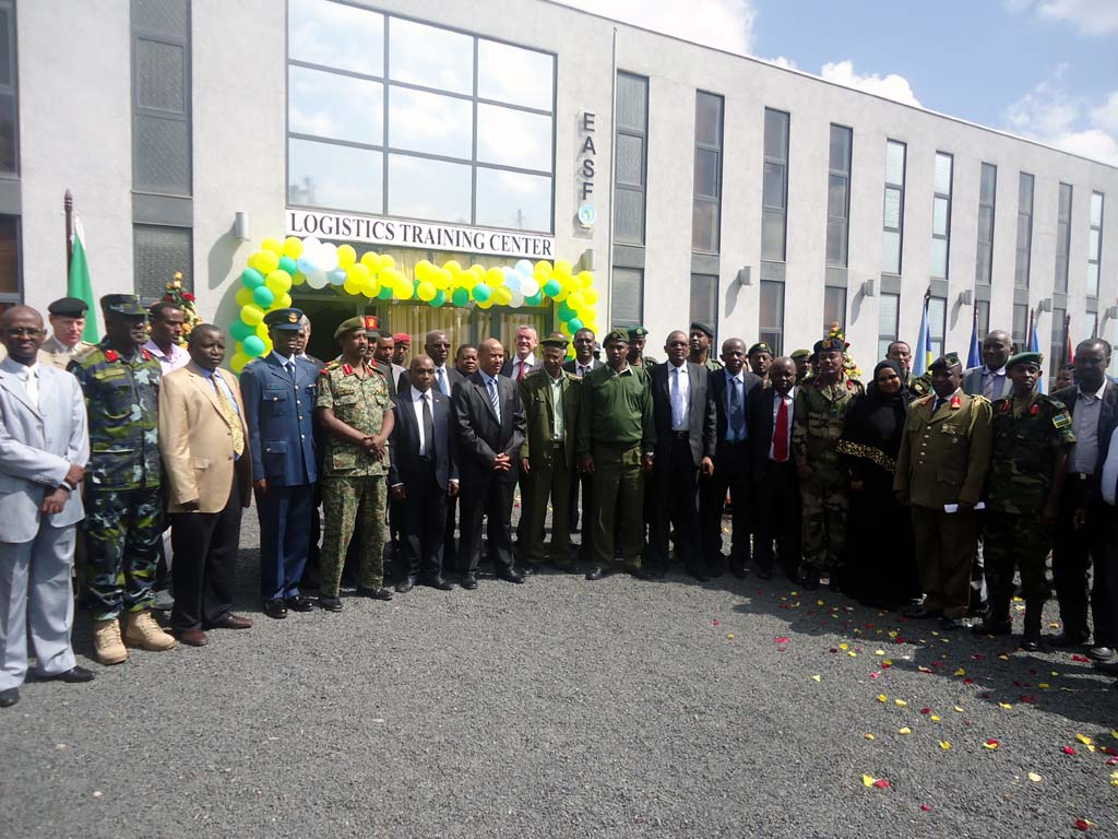 Official Opening of Logistics Training Centre